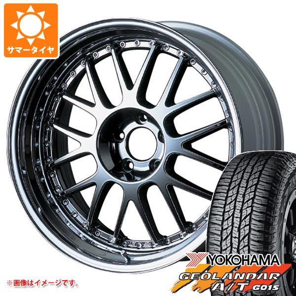 サマータイヤ 235/55R18 104H XL ヨコハマ ジオランダー A/T G015 ブラックレター SSR プロフェッサー MS1 8.0-18 タイヤホイール4本セット