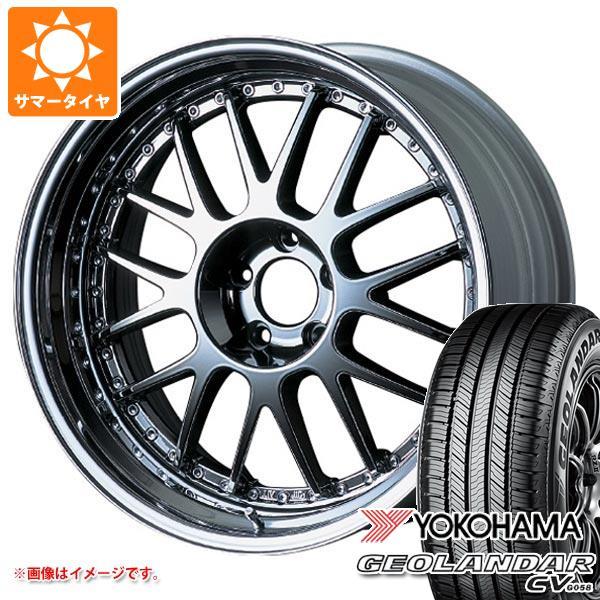 サマータイヤ 225/60R18 100H ヨコハマ ジオランダー CV 2020年4月発売サイズ SSR プロフェッサー MS1 8.0-18 タイヤホイール4本セット