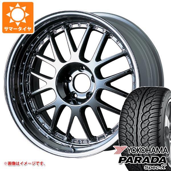 サマータイヤ 235/55R20 102V ヨコハマ パラダ スペック-X PA02 SSR プロフェッサー MS1 8.5-20 タイヤホイール4本セット