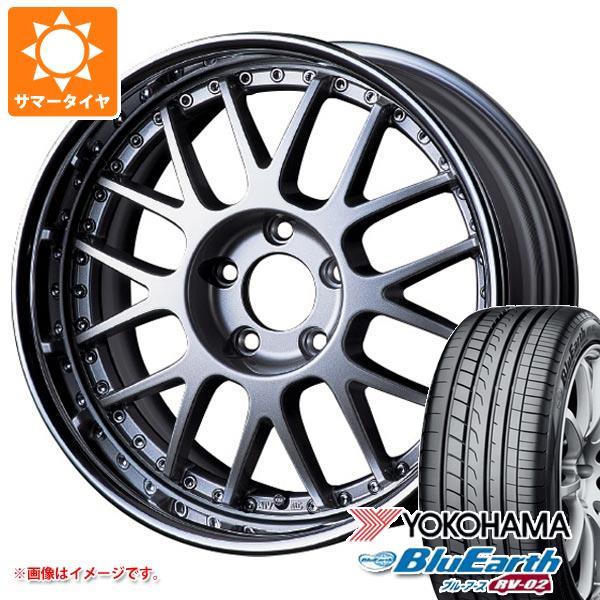 2019年製 サマータイヤ 165/55R15 75V ヨコハマ ブルーアース RV-02CK SSR プロフェッサー MS1R 5.5-15 タイヤホイール4本セット