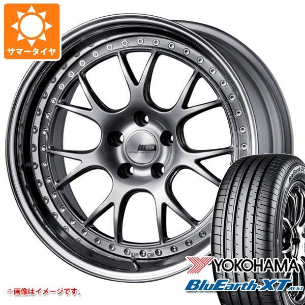 サマータイヤ 235/55R19 101V ヨコハマ ブルーアースXT AE61 SSR プロフェッサー MS3 8.0-19 タイヤホイール4本セット