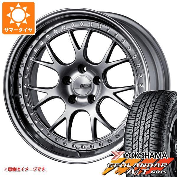 サマータイヤ 235/55R18 104H XL ヨコハマ ジオランダー A/T G015 ブラックレター SSR プロフェッサー MS3 8.0-18 タイヤホイール4本セット