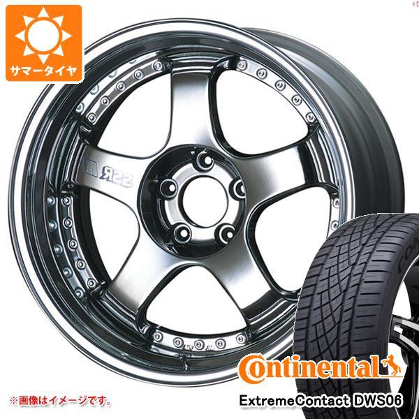 正規品 サマータイヤ 235/55R19 105W XL コンチネンタル エクストリームコンタクト DWS06 SSR プロフェッサー SP1 8.0-19 タイヤホイール4本セット