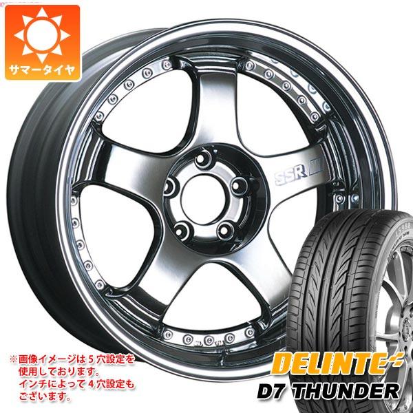 サマータイヤ 245/35R20 95W XL デリンテ D7 サンダー SSR プロフェッサー SP1 8.5-20 タイヤホイール4本セット