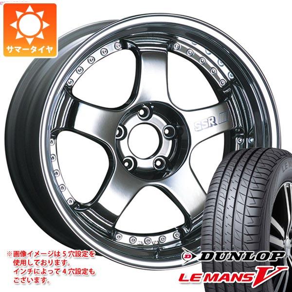サマータイヤ 245/45R18 100W XL ダンロップ ルマン5 LM5 SSR プロフェッサー SP1 8.0-18 タイヤホイール4本セット