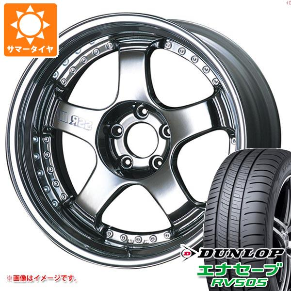 サマータイヤ 245/45R18 100W XL ダンロップ エナセーブ RV505 SSR プロフェッサー SP1 8.0-18 タイヤホイール4本セット