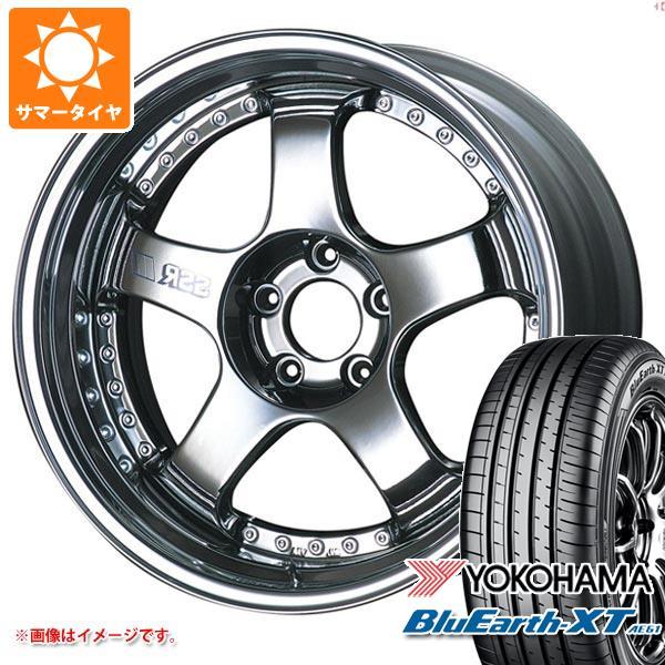 サマータイヤ 225/55R18 98V ヨコハマ ブルーアースXT AE61 SSR プロフェッサー SP1 8.0-18 タイヤホイール4本セット