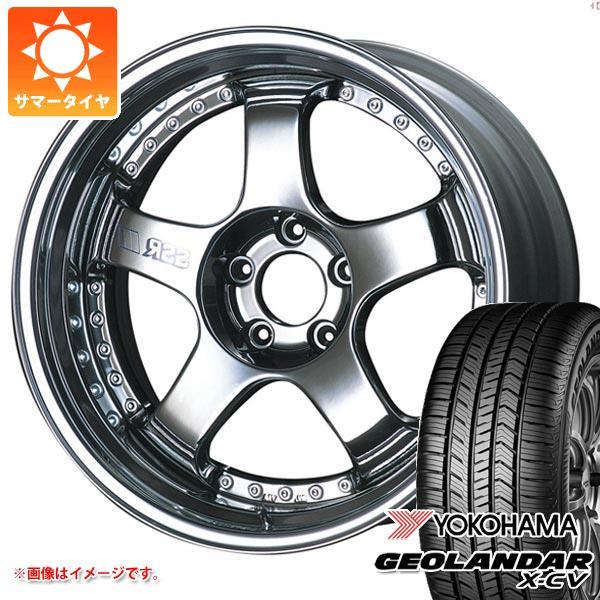 サマータイヤ 235/55R19 105W XL ヨコハマ ジオランダー X-CV G057 SSR プロフェッサー SP1 8.0-19 タイヤホイール4本セット