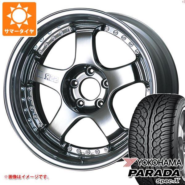 サマータイヤ 235/55R20 102V ヨコハマ パラダ スペック-X PA02 SSR プロフェッサー SP1 8.5-20 タイヤホイール4本セット