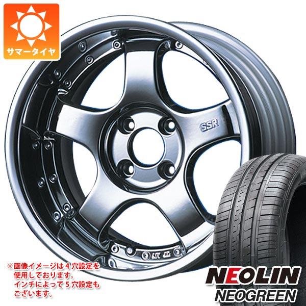 サマータイヤ 165/45R16 71V XL ネオリン ネオグリーン SSR プロフェッサー SP1R 5.5-16 タイヤホイール4本セット