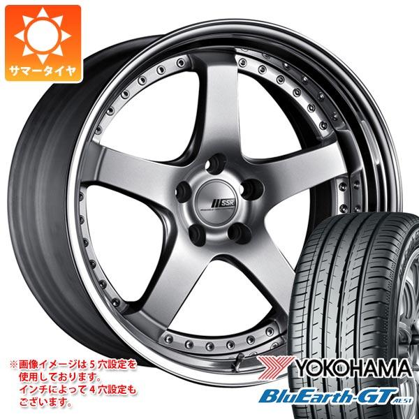 サマータイヤ 245/45R19 98W ヨコハマ ブルーアースGT AE51 SSR プロフェッサー SP4 8.0-19 タイヤホイール4本セット