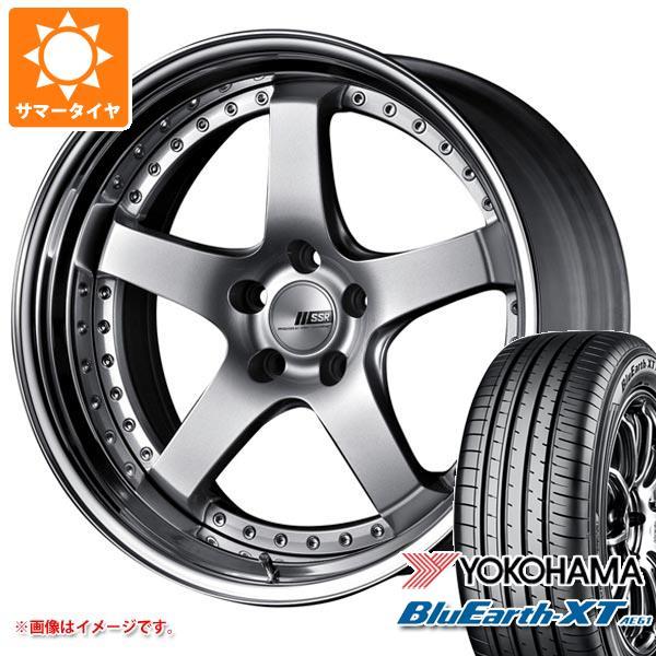 サマータイヤ 225/55R18 98V ヨコハマ ブルーアースXT AE61 SSR プロフェッサー SP4 8.0-18 タイヤホイール4本セット