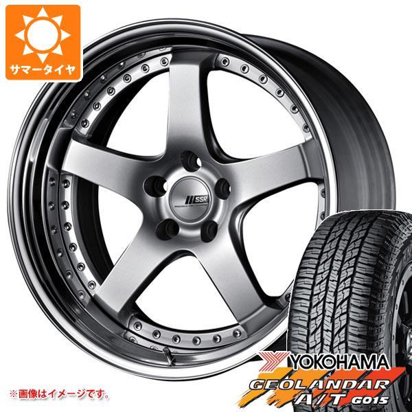 サマータイヤ 235/55R18 104H XL ヨコハマ ジオランダー A/T G015 ブラックレター SSR プロフェッサー SP4 8.0-18 タイヤホイール4本セット