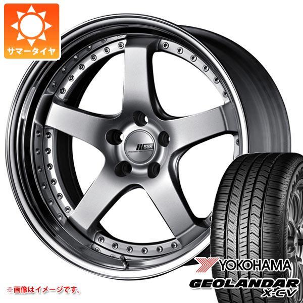 サマータイヤ 235/55R19 105W XL ヨコハマ ジオランダー X-CV G057 SSR プロフェッサー SP4 8.0-19 タイヤホイール4本セット