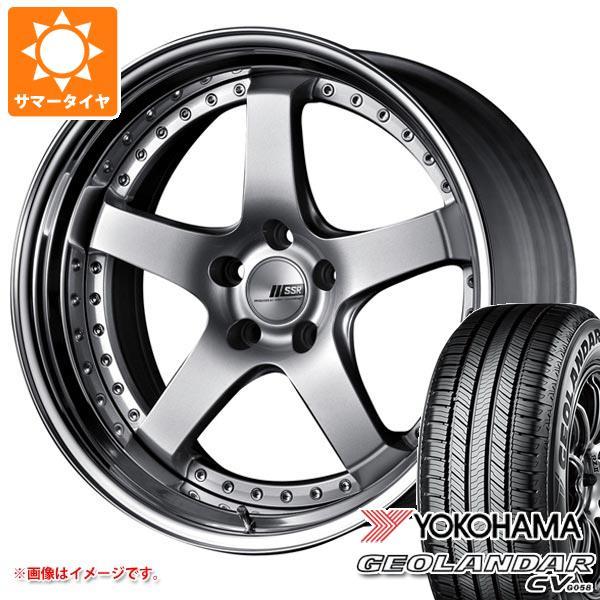 サマータイヤ 225/60R18 100H ヨコハマ ジオランダー CV 2020年4月発売サイズ SSR プロフェッサー SP4 8.0-18 タイヤホイール4本セット