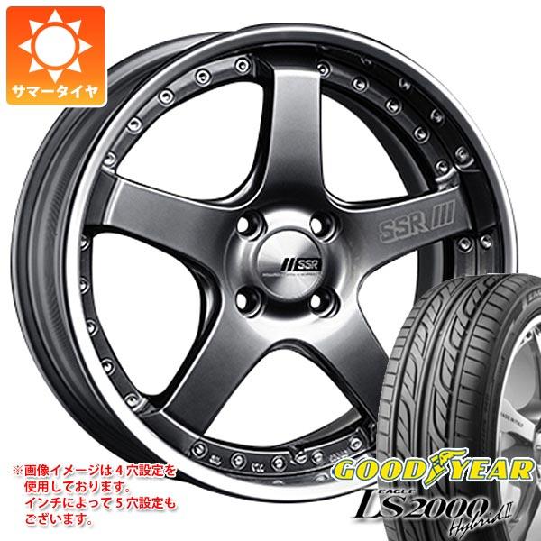 サマータイヤ 165/50R16 75V グッドイヤー イーグル LS2000 ハイブリッド2 SSR プロフェッサー SP4R 5.5-16 タイヤホイール4本セット