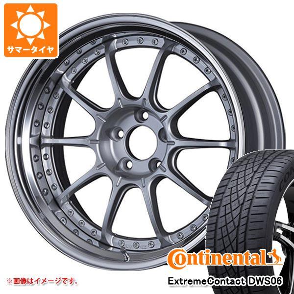 正規品 サマータイヤ 235/55R19 105W XL コンチネンタル エクストリームコンタクト DWS06 SSR プロフェッサー SP5 8.0-19 タイヤホイール4本セット