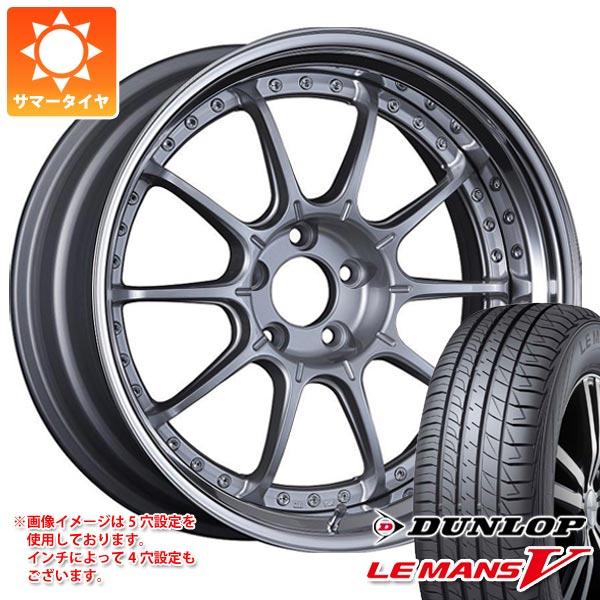 サマータイヤ 235/45R18 94W ダンロップ ルマン5 LM5 SSR プロフェッサー SP5 8.0-18 タイヤホイール4本セット