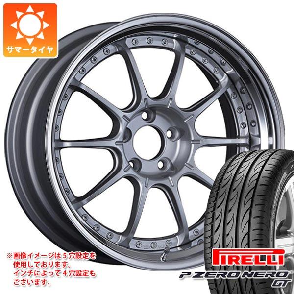正規品 サマータイヤ 245/30R20 (90Y) XL ピレリ P ゼロ ネロ GT SSR プロフェッサー SP5 8.5-20 タイヤホイール4本セット