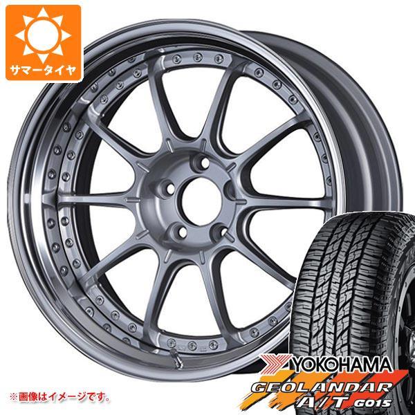 サマータイヤ 235/55R18 104H XL ヨコハマ ジオランダー A/T G015 ブラックレター SSR プロフェッサー SP5 8.0-18 タイヤホイール4本セット
