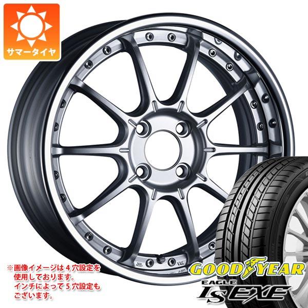 サマータイヤ 165/45R16 74W XL グッドイヤー イーグル LSエグゼ SSR プロフェッサー SP5R 5.5-16 タイヤホイール4本セット