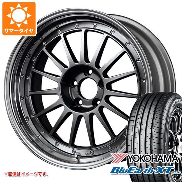 サマータイヤ 225/55R18 98V ヨコハマ ブルーアースXT AE61 SSR プロフェッサー TF1 8.0-18 タイヤホイール4本セット