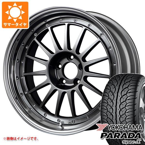 サマータイヤ 235/55R20 102V ヨコハマ パラダ スペック-X PA02 SSR プロフェッサー TF1 8.5-20 タイヤホイール4本セット