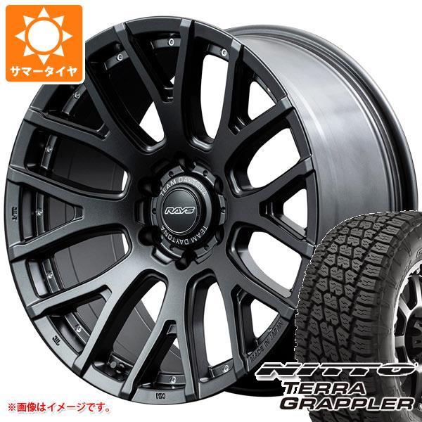 サマータイヤ 265/50R20 111S XL ニットー テラグラップラー レイズ デイトナ F8 ゲイン 9.0-20 タイヤホイール4本セット
