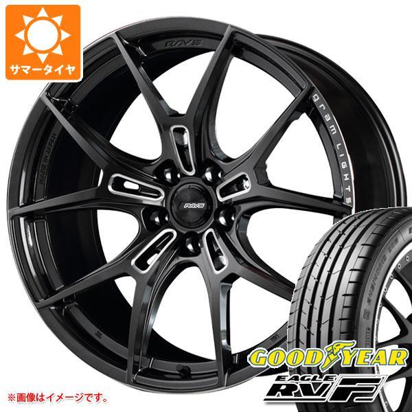 サマータイヤ 245/35R20 95W XL グッドイヤー イーグル RV-F レイズ グラムライツ 57FXZ 9.5-20 タイヤホイール4本セット