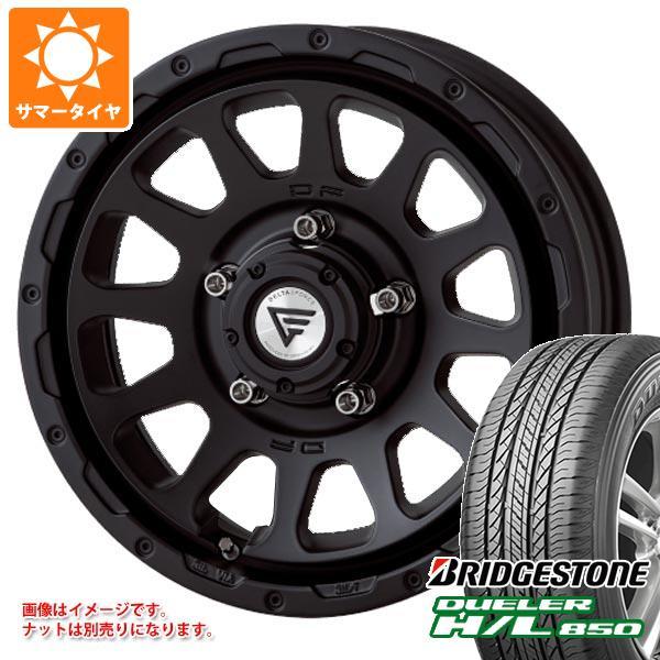 ジムニー専用 サマータイヤ ブリヂストン デューラー H/L850 215/70R16 100H デルタフォース オーバル タイヤホイール4本セット