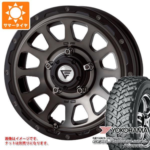 ジムニー専用 サマータイヤ ヨコハマ ジオランダー M/T+ G001J 195R16C 104/102Q デルタフォース オーバル タイヤホイール4本セット