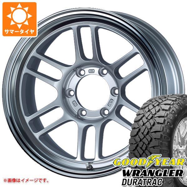 高価値セリー サマータイヤ 265/65R17 112S グッドイヤー ラングラー デュラトラック エンケイ オールロード RPT1 8.5-17 タイヤホイール4本セット, TRON fd901162