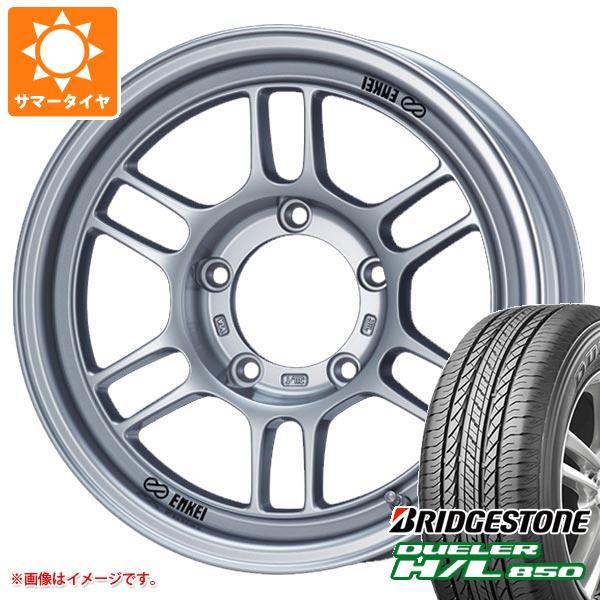 ジムニーシエラ専用 サマータイヤ ブリヂストン デューラー H/L850 215/70R16 100H ENKEI エンケイ オールロード RPT1 タイヤホイール4本セット