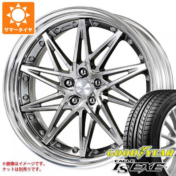 サマータイヤ 245/35R20 95W XL グッドイヤー イーグル LSエグゼ シュヴァート SG1 8.5-20 タイヤホイール4本セット