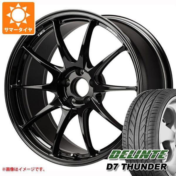 サマータイヤ 235/35R19 91W XL デリンテ D7 サンダー TWS モータースポーツ RS317 8.5-19 タイヤホイール4本セット