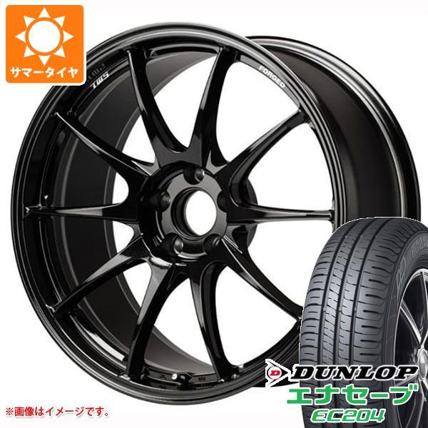 サマータイヤ 215/45R18 93W XL ダンロップ エナセーブ EC204 TWS モータースポーツ RS317 8.0-18 タイヤホイール4本セット