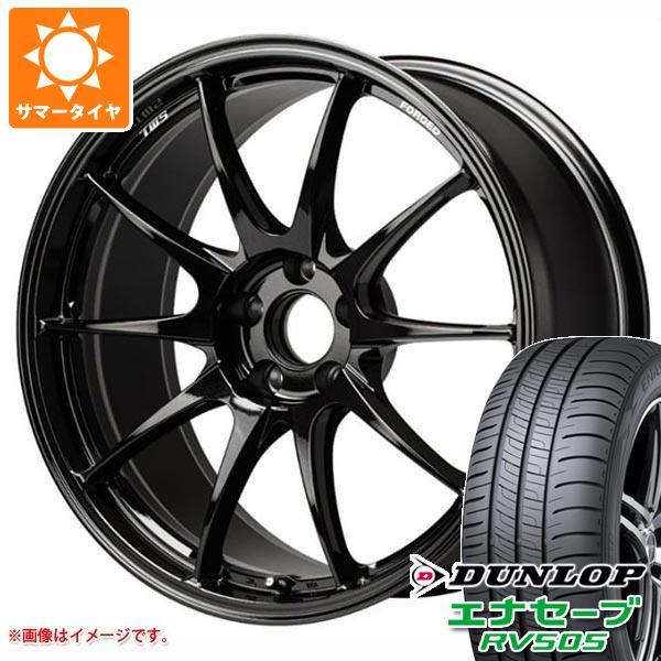 サマータイヤ 245/45R18 100W XL ダンロップ エナセーブ RV505 TWS モータースポーツ RS317 8.0-18 タイヤホイール4本セット