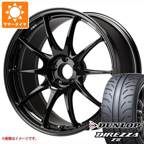 サマータイヤ 235/40R18 91W ダンロップ ディレッツァ Z3 TWS モータースポーツ RS317 8.0-18 タイヤホイール4本セット