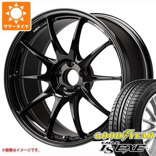 【SALE】 サマータイヤ 245/45R18 100W XL グッドイヤー イーグル LSエグゼ TWS モータースポーツ RS317 8.5-18 タイヤホイール4本セット, 鎮西町 014e30e5