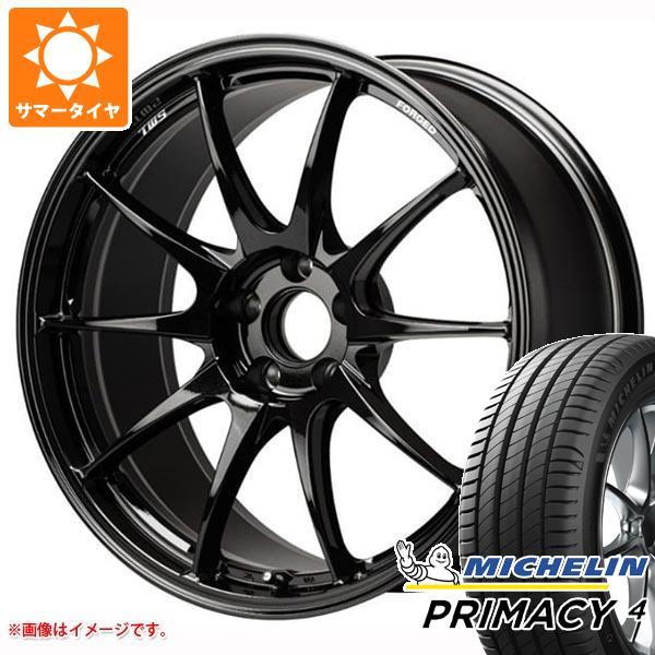 正規品 サマータイヤ 215/55R18 99V XL ミシュラン プライマシー4 TWS モータースポーツ RS317 8.0-18 タイヤホイール4本セット