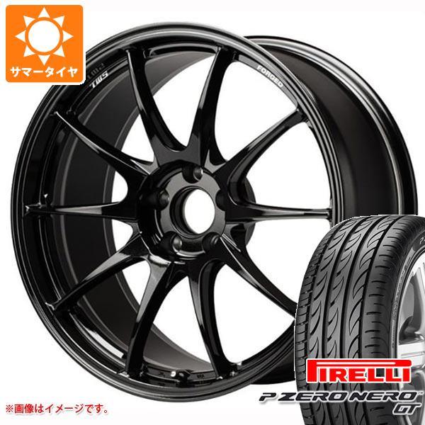 サマータイヤ 235/35R19 (91Y) XL ピレリ P ゼロ ネロ GT TWS モータースポーツ RS317 8.5-19 タイヤホイール4本セット