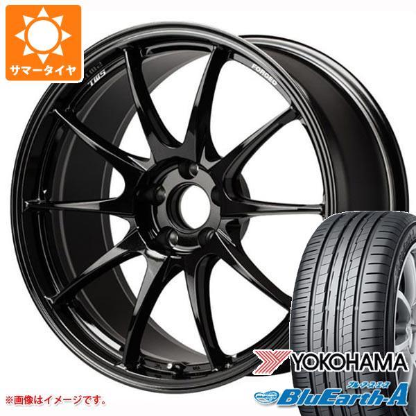 サマータイヤ 235/55R18 104W XL ヨコハマ ブルーアース・エース AE50 TWS モータースポーツ RS317 8.0-18 タイヤホイール4本セット