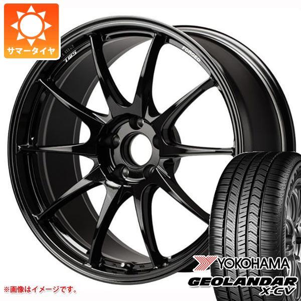 サマータイヤ 235/55R19 105W XL ヨコハマ ジオランダー X-CV G057 TWS モータースポーツ RS317 8.5-19 タイヤホイール4本セット