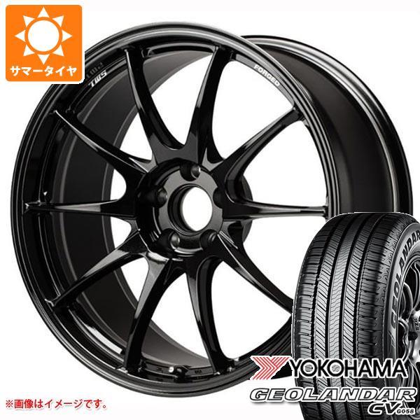 サマータイヤ 225/55R18 98V ヨコハマ ジオランダー CV TWS モータースポーツ RS317 8.0-18 タイヤホイール4本セット