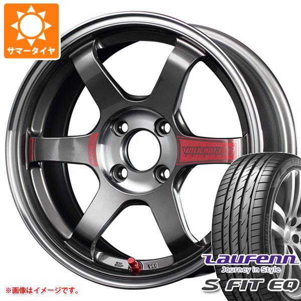 サマータイヤ 185/55R15 82H ラウフェン Sフィット EQ LK01 レイズ ボルクレーシング TE37SL ソニック 6.0-15 タイヤホイール4本セット