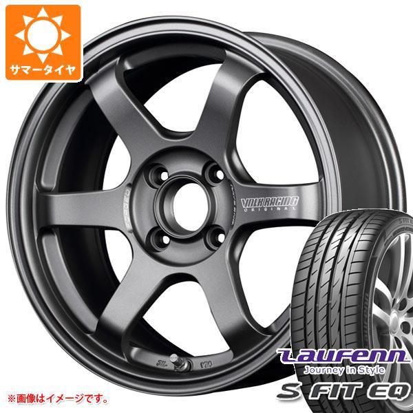サマータイヤ 185/55R15 82H ラウフェン Sフィット EQ LK01 レイズ ボルクレーシング TE37 ソニック クラブレーサー 7.0-15 タイヤホイール4本セット
