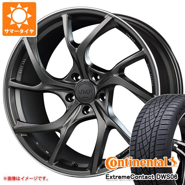 正規品 サマータイヤ 245/40R20 99Y XL コンチネンタル エクストリームコンタクト DWS06 レイズ ベルサス VMF C-01 8.5-20 タイヤホイール4本セット