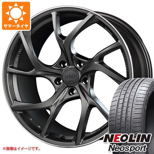 サマータイヤ 245/30R20 95W XL ネオリン ネオスポーツ レイズ ベルサス VMF C-01 8.5-20 タイヤホイール4本セット