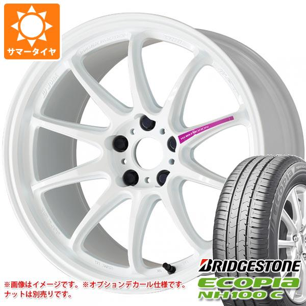 サマータイヤ 185/55R16 83V ブリヂストン エコピア NH100 C エモーション ZR10 6.5-16 タイヤホイール4本セット
