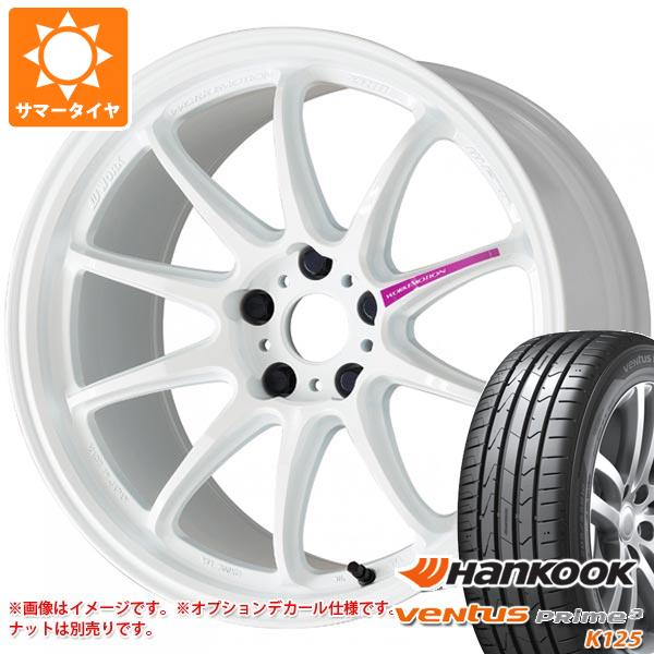 サマータイヤ 165/45R16 74V XL ハンコック ベンタス プライム3 K125 ワーク エモーション ZR10 5.5-16 タイヤホイール4本セット